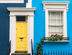 Colourful (Nomadic Vision Photography) Tags: greatbritain london unitedkingdom colourful nottinghill travelphotography complimentarycolours jonreid tinareid colourfulhome httpnomadicvisioncom