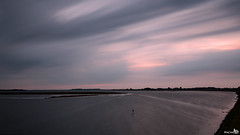 Grevelingen during twilight (BraCom (Bram)) Tags: longexposure holland clouds canon twilight widescreen nederland thenetherlands wolken le 169 ouddorp schemering zuidholland goereeoverflakkee grevelingen breedbeeld langesluitertijd canonef24105mm nd110 110nd bracom bw110endgrey canoneos5dmkiii bramvanbroekhoven