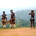 ... depois assistimos um show dos Zulus