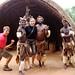 Roy, Mi e os Zulus (Foto Natascha)
