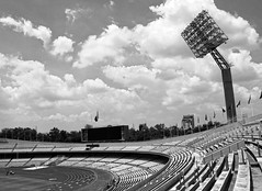 Estadio Olmpico Universitario [UNAM] (Ivn Adrin) Tags: sport stadium estadio universidad deporte unam lampara deportivo universitario olimpico ciudaduniversitaria gradas