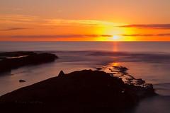 El sol y el mar (84 EXPLORE - 17 - 09 - 2012) # 79 (Jose Casielles) Tags: color luz sol mar agua amanecer cielo nubes rocas yecla fotografasjosecasielles
