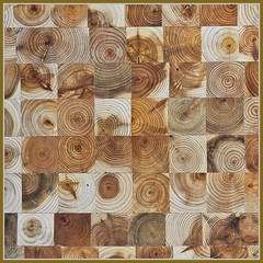 3746. How does your juniper grow. 259/366 (Di's Eyes) Tags: wood grow rings blocks trivet odc 259366 gorwoth