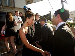 Cote de Pablo and Danny Pino