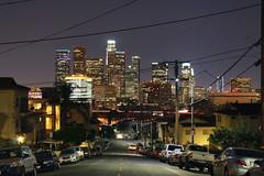 Los Angeles. (Rauler21) Tags: california street nightphotography la losangeles downtown chinatown streetphotography cityskyline downtownlosangeles laatnight losangelesatnight amatuerphotography