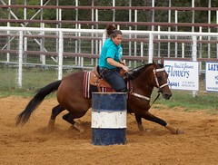 Kellyville Barrel Race September (Garagewerks) Tags: horse oklahoma sport race cowboy all ride action outdoor barrels sony barrel racing rodeo poles tulsa cowgirl 70300mm kellyville tamron saddle countryliving barrelracing barrelrace f456 a65 roundupclub slta65v kellyvilleroundupclub