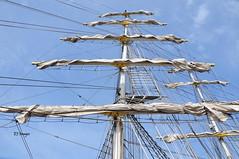 The Mast (EJ Images) Tags: uk england slr nikon norfolk maritime mast yarmouth dslr greatyarmouth rigging eastanglia 2012 nikonslr d90 nikondslr nikond90 18105mmlens ejimages maritimefayre greatyarmouthmaritimefayre dsc2150c