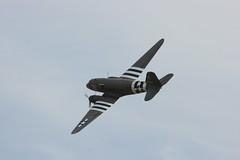 "Douglas C-47 - ""Drag-Em-Oot"" (SandorJ) Tags: plane airplane aircraft airshow duxford douglas skytrain avion c47 meetingaérien aeronef dragemoot"