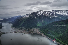 A City Accessible by Air & Sea. . .Only (TIA International Photography) Tags: city bridge urban terrain snow mountains nature water june alaska sailboat america marina tia island bay coast harbor town sailing view natural cloudy harbour