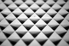 Triangles (@noutyboy (Instagram)) Tags: white abstract black holland netherlands monochrome playground triangles canon eos 50mm triangle europe utrecht nederland thenetherlands cumulus f18 speeltuin 550 grafisch nout niftyfifty 550d dekleinedom eos550d noutyboy kleinedom