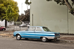 '62 Ford Falcon (Curtis Gregory Perry) Tags: portland oregon 1962 ford falcon 62 pdx car automobile coupe blue classic original vintage nikon d300 united states unitedstates usa northamerica   auto automobil     xe hi motor