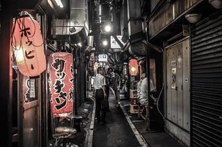 Omoide Yokocho (Memory Lane) in Shinjuku