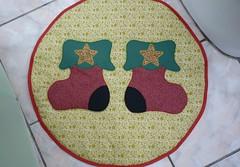 P1020178 (Monne Arts) Tags: natal de bonito artesanato capa noel lindo festa decorao jogo banheiro mamae papai tecido colorido algodo enfeite proteo festivo natalino