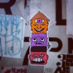 RELLIK (billy craven) Tags: streetart chicago graffiti sticker label usps 228 slaptag rellik uploaded:by=instagram