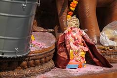 IMG_9341 (Rahul Gaywala) Tags: blue boy red india color green girl car festival fun dance team god flag poor daughter ganesh tricolor anita abhishek priyanka visarjan ganpati surat tiranga adajan gaywala