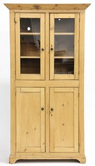 8. Antique Pine Cupboard