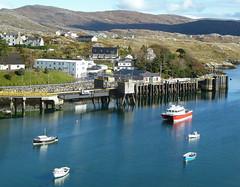 Tarbert Harbour,  Isle of Harris,  Scotland (David May) Tags: ferry island caw terminal harris outer isle calmac uig hebrides caledonian macbrayne