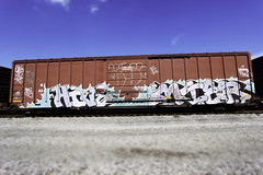 HIVE MIER (Revise_D) Tags: railroad art graffiti steel rail graff tagging hive freight revised rolli fr8 mier benching fr8heaven revisedesigns