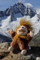 Lötschi mit Aletschhorn ( VS - 4`193m ) und ... ( Gletscher / Glacier ) im zur UNESCO-Weltnaturerbe erklärten Bergregion Jungfrau - Aletsch - Bietschhorn in den Alpen / Alps im Kanton Wallis / Valais in der Schweiz (chrchr_75) Tags: hurni christoph schweiz suisse switzerland svizzera suissa swiss kantonwallis kantonvalais chrchr chrchr75 chrigu chriguhurni 1210 oktober 2012 hurni121005 chriguhurnibluemailch wallis valais kanton oktober2012 albumzzz201210oktober gletscher glacier ghiacciaio 氷河 gletsjer albumgletscherimkantonwallis alpen alps