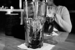 Drained. (梨咲) Tags: blackandwhite dslr sony sonyalpha a65 1855mm standardzoom beverage iced lemontea