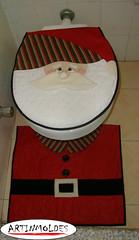 NATAL NO WC (Artinmoldes - Atelier Das Mana) Tags: