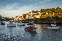 Lumire du soir sur Dolan (RVBO) Tags: sunset port brittany bretagne breizh finistre