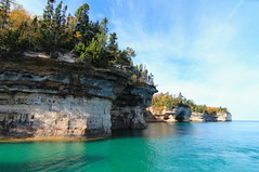 Pictured Rocks National Lakeshore (Cole Chase Photography) Tags: autumn fall michigan munising picturedrocks picturedrocksnationallakeshore munisingmichigan picturedrockscruises