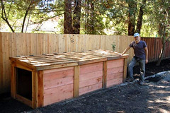 "3-Bin Compost Bin • <a style=""font-size:0.8em;"" href=""https://www.flickr.com/photos/87478652@N08/8072755966/"" target=""_blank"">View on Flickr</a>"