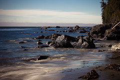 Swirls (Carrie Cole Photography) Tags: longexposure canada beach nature landscape britishcolumbia vancouverisland victoriabc waterscape juandefucatrail cans2s