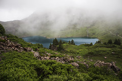 Lake and Clouds (fbocplr) Tags: landscape forest mountains water nature light clouds cloudy urban rocks beautiful green austria waterfall mountain photograph mood exposure exploration photographer adventure amazing foggy popular capture sterreich picoftheday allshots photodaily lake trees