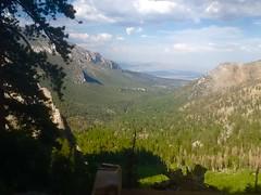 """ Trail View "" (ColFineArtistMar1) Tags: mountains scenery trees cypress panorama view nature clouds horizon phograph artnature mountcharleston nevada lasvegas"