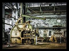 Abandoned machinery (shashin62) Tags: nsw sydney cockatooisland machinery abandoned factory australia metal