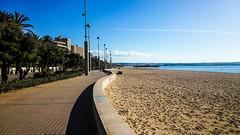 Palma, Mallorca (throzen) Tags: 2016 majorca mallorca landscape sun exotic december winter beach ocean sky huts