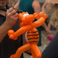 Tiger Balloon (swong95765) Tags: balloon art tiger artist toy cute child skill make