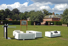 Do please sit down (Camperman64) Tags: clumberpark nottinghamshire dukeries summer bluesky
