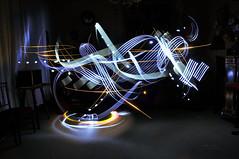 * Light movement * (-ABLOK-) Tags: light painting lumire effet effect magic long exposure pause longue ablok night nuit