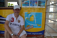 Ryan Janek Wolowski boarding the St Barth ferry in Marigot Collectivité de Saint-Martin France French side of the island of Saint Martin FWI French West Indies (RYANISLAND) Tags: france french saintmartin stmartin saint st collectivity martin collectivityofsaintmartin collectivité collectivitédesaintmartin marigot frenchcaribbean frenchwestindies thecaribbean caribbean caribbeanisland caribbeanislands island islands leewardislands leewardisland westindies indies lesserantilles antilles caribbees