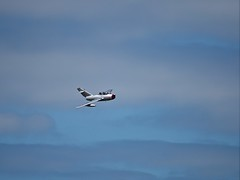 Mikoyan-Gurevich MiG-15 (MySimplePhotosToday) Tags: airshow east england gurevich hernebay kent kingdom mig15 mikoyan russian south uk united aircraft entertainment fighter jet planes