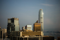The fresh smell of sunny day... (EHA73) Tags: aposummicronm1250asph leica leicamp typ240 hongkong centraldistrict skyline buildings towers skyscrapers travel sunrise sunny victoriabay