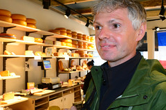 Pete With Cheese (Bob Hawley) Tags: nikond7100 nikon24f28 holland netherlands summerholidays groningen people portraits shops stores cheese food dutch men