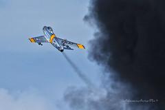 Sabre Zoom... (Zane S. Adams) Tags: oshkosh airventure eaa 2016 sabre f86 northamerican smoke airshow