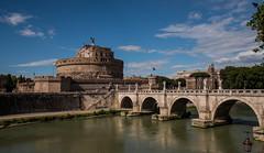 Castel Sant'Angelo (giumichi) Tags: river tevere mausoleo adriano angelo castello fiume roma