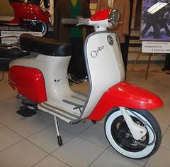 1965 Lambretta J100 Cento (splattergraphics) Tags: 1965 lambretta j100 cento scooter modsvsrockers exhibit museum aacamuseum antiqueautomobileclubofamerica hersheypa