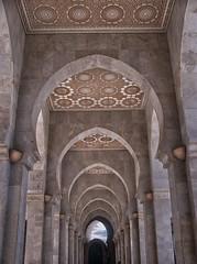 Casablanca (Giulia Gangemi) Tags: casablanca marocco mosque sky clouds architecture morocco beautiful perspective imponent massive building