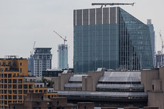 From One New Change (Gary Kinsman) Tags: canon5dmkii canoneos5dmarkii london canon70300mm telephoto zoom cityoflondon ec4 skyline landscape cityscape tower highrise 2016 compression urbanlandscape 240blackfriarsroad skyscraper skygardensnineelms construction wealth apartments perspectivebuilding sampsonhouse banksidelofts stgeorgewharftower cranes