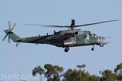 8960 Forca Aerea Brasileira (Thiago Pereira Machado) Tags: 8960 fab mil mi35 poti rondonia anapolis anápolis brazil military hind sabre ah2