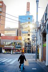 Dévoilé (www.danbouteiller.com) Tags: japan japon japonia tokyo japanese japonais akihabara city ville urban photo rue photoderue street streetscene streetlife streets streetshot streetphoto streetphotography people buildings building blue crosswalk pavement walking walker canon canon5d eos 5dmk2 5d 50mm 50mm14 5d2 5dm2