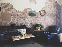 Coffee shop in El Dorado, Kansas. (acholcomb91) Tags: travel trendy hip hipsterdecorations hipsterdecor hipster leathercouches leathercouch foodie food eldoradokansas eldorado ks kansas coffeeshops coffeeshop kaffee coffee