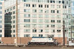 Amtrak.WashingtonDC022816.1159v4s (jrm_rr) Tags: amtrak amtrak737 sw1 switcher locomotive engine railroad dc districtofcolumbia washingtonunionstation washington washingtondc development offices catenary
