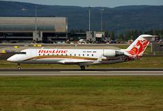 VQ-BND (Skidmarks_1) Tags: crj100er russline vqbnd aviation aircraft airport airliners engm norway osl oslogardermoenairport